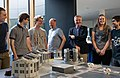 The LEGO® model of the Paranal platform is handed over to ESO's Director General (34787985184).jpg