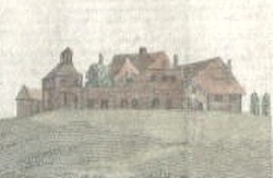 The Leasowes - The house as it was during the lifetime of William Shenstone.