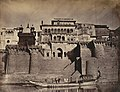 The Maharaja's Fort, Front view -Benares-.jpg