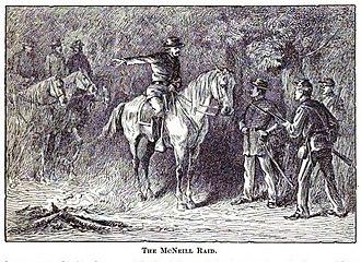 McNeill's Rangers - Image: The Mc Neill Raid