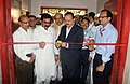 The Minister of State for Defence, Dr. Subhash Ramrao Bhamre inaugurating the state-of-the-art new production line for manufacturing of 84 mm ammunitions, during his visit to Ordnance Factory Khamaria, in Madhya Pradesh.jpg
