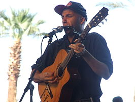 The Nightwatchman op Coachella Festival in april 2007.
