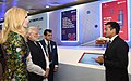 The Prime Minister, Shri Narendra Modi and the Advisor to the President of United States, Ms. Ivanka Trump visiting the Virtual Exhibition, at the Global Entrepreneurship Summit-2017, in Hyderabad on November 28, 2017 (3).jpg