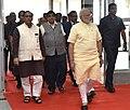 The Prime Minister, Shri Narendra Modi visiting the ONGC Petro Additions Ltd, OPAL, in Gujarat.jpg