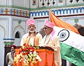 The Prime Minister, Shri Narendra Modi with the Prime Minister of Nepal, Shri K.P. Sharma Oli, at Janakpur, Nepal on May 11, 2018 (3).JPG