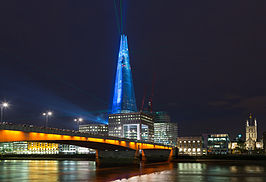 The Shard tijdens de opening