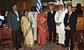 The Speaker, Lok Sabha, Smt. Meira Kumar alongwith the Indian Parliamentary delegation with the Vice President of Uruguay, Mr. Danilo Astori, at Montevideo, Uruguay on January 16, 2012.jpg