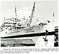 The U.S. Army Hospital Ship Frances Y. Slanger, New York Port of Embarkation, Brooklyn, N.Y., 1945.jpg