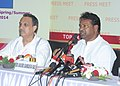 The Union Minister for Textiles, Dr. Kavuru Sambasiva Rao addressing a press conference, in New Delhi on July 15, 2013.jpg