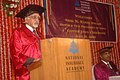 The Vice President, Shri Mohd. Hamid Ansari addressing at the fourth convocation of National Insurance Academy School of Management, Pune on July 18, 2009.jpg