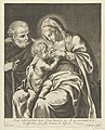 The Virgin nursing the infant Christ, Joseph at left, after Reni MET DP841765.jpg