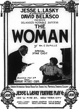 The Woman (1915 film) - Newspaper advertisement