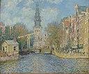 The Zuiderkerk, Amsterdam by Claude Monet, 1874.jpg