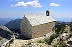 The church of St. Jure in nature park of Biokovo in Croatia.jpg