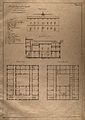 The lazaretto of Varignano at La Spezia; sections and floor Wellcome V0014657.jpg
