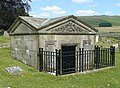 The mausoleum of the Standeven family, Rylstone churchyard - geograph.org.uk - 1358094.jpg