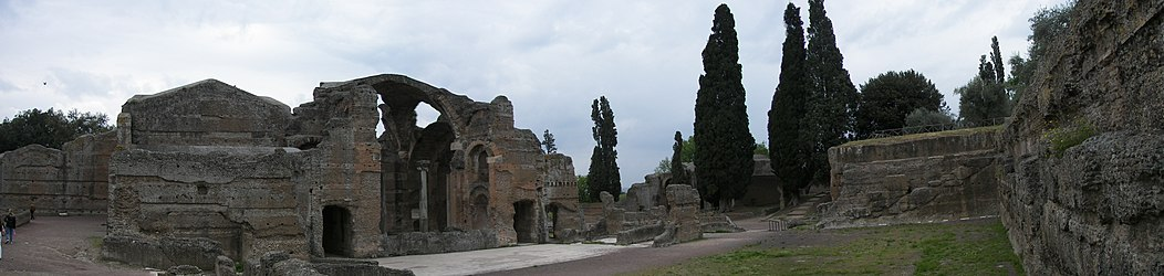 Thermae of Villa Adriana panoramic.jpg