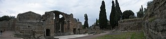 Hadrian's Villa - Grand Thermae