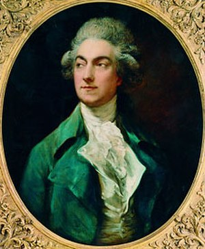 Gaétan Vestris - Vestris by Thomas Gainsborough