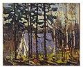 Thomson, Artist's Camp, Canoe Lake, Algonquin Park.jpg