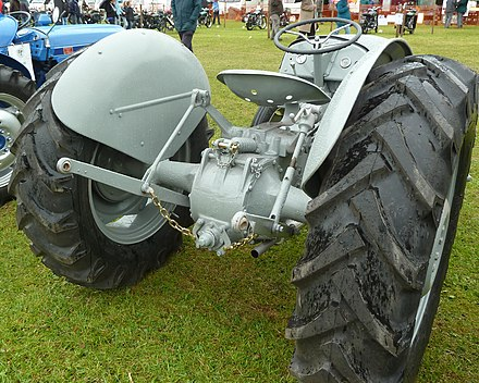 Ferguson TE20 TEA 20 TED 20 TEF 20 Grey Fergie Tractor Track Rod End Front