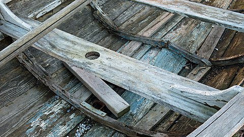 Thwarts in old wooden sailing skiff.jpg