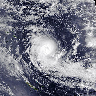 1991–92 South Pacific cyclone season - Image: Tia Nov 18 1991 0343Z