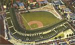 Tichnor Bros postcard of Wrigley Field, Chicago, Illinois (cropped).jpg