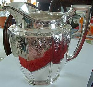 Sterling silver - Image: Tiffany Pitcher