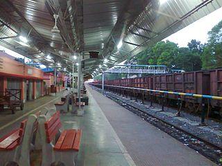 Jharsuguda–Vizianagaram line Railway line in India