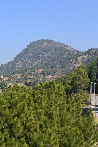 Hazara, Pakistan - Tilla Charouni, On the border between Hazara and Islamabad capital territory