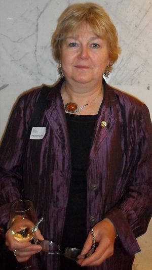 Tilli Tansey - Tansey at the Royal Society on 19 October 2012