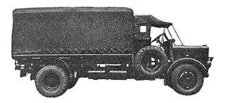 Tilling-Stevens - petrol-electric searchlight lorry