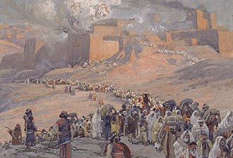 Books of Kings - James Tissot, The Flight of the Prisoners – the fall of Jerusalem, 586 BCE