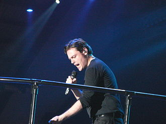 Sanremo Music Festival 2015 - Tiziano Ferro was the first musical guest of the show