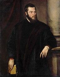 Titian: Portrait of a man, Benedetto Varchi