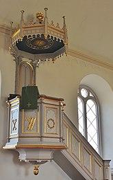 Fil:Tjureda kyrka Predikstolen 011.JPG