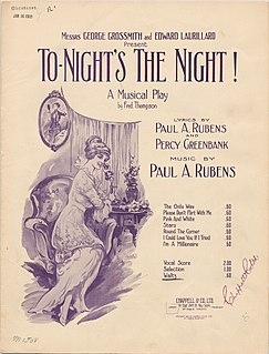 <i>To-Nights the Night</i> (musical) musical