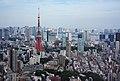 Tokyo Tower as seen from Mori Tower.jpg
