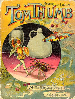 Tom Thumb - Children's edition, 1888