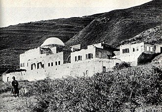 Rabbi Meir - Historical photo of Rabbi Meir's tomb in Tiberias.