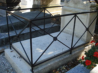 Camille-Marie Stamaty - The grave in the cemetery Montmartre