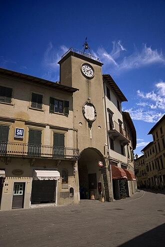 San Casciano in Val di Pesa - Image: Torre dell'orologio di San Casciano