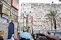 Tower of David wall from Greek Catholic Patriarchate Street, Jerusalem 2.jpg