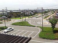 Toyosaka station square (north exit).JPG