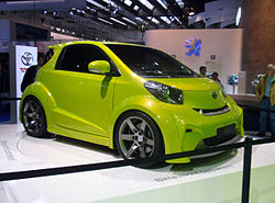 Toyota iQ Sport at the Frankfurt Motor Show