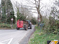 Tractor and manure cart, Piercestown - geograph.org.uk - 1236121.jpg