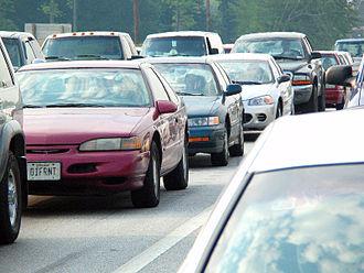 Commuting - Traffic jam in Baltimore, Maryland