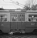 Trambordjes van lijn 25 gedeeltelijk President Kennedylaan en Rivierenlaan, Bestanddeelnr 916-0477.jpg