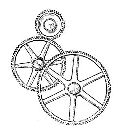 gear train wikipedia 1970 Corvette Vacuum Diagram illustration from army service corps training on mechanical transport 1911 fig 112 transmission of motion and force by gear wheels pound train